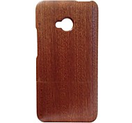 Kyuet Wooden Case Natural Handcrafted Sapele Wood Shell Cover Skin Cell Phone Case for Htc One M7