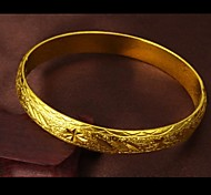 Fashion Exquisite Gift Ms Pattern Plating 24 K Gold Bracelet