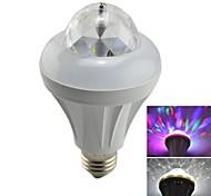 Q112  8W RGB Light LED Crystal Magic Stage Light Rotating Lamp (85-265V,1x Lamp)