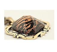 восстановить древние способы больше, чем в Европе и Соединенных Штатах квадратный Leopard обрезки ожерелье свитер цепи