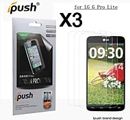 High Transparency HD LCD Screen Protector for LG G Pro Lite (3 Pieces)