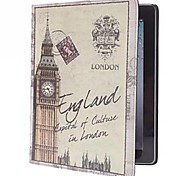retro big ben modello pu custodia in pelle per iPad 2 dell'aria