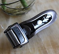 Rechargeable Men's Electric Shaver with 3 Head Reciprocating System