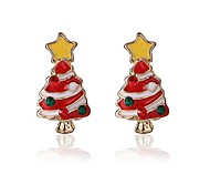 Christmas Gift Cute Christmas tree Earring