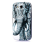 Elephant Pattern Thin Hard Case Cover for Samsung Galaxy S3 I9300