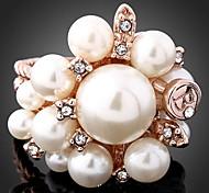 XUAN Fashion Casual High Quality Pearl Ring