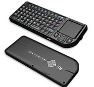 Rii mini v3 2.4g keyborad inalámbrica con / touchpad puntero / láser / luz de fondo - negro