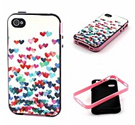 amore modello Custodia Cover posteriore per iphone4 / 4s
