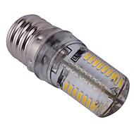Lampadine a pannocchia 64 SMD 3014 T E17 4 W 300 LM Bianco caldo AC 110-130 V