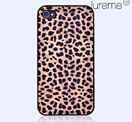 Fashionable Leopard Pattern Hard Case for iPhone 4/4S