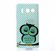 Owl Pattern TPU Soft Case for Huawei Y300
