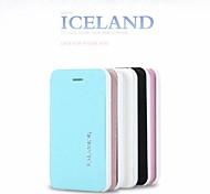 promotion six glace étuis en cuir série de cristaux de téléphone pour iphone 4 (couleurs assorties)