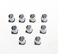 Condensadores electrolíticos de 6 x 6.3v 470uF 7mm smd de aluminio (10 piezas)