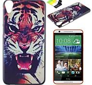 ruggente caso duro del modello pc tigre e supporto del telefono per HTC Desire 820