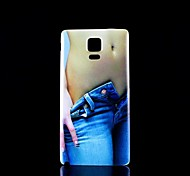 Beauty  Pattern Hard Case for Samsung Galaxy  Note 4