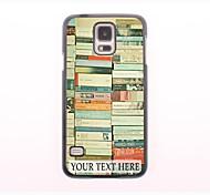 personnalisé cas de téléphone - pile cas design en métal pour Samsung Galaxy s5