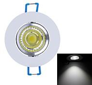 Ziyu zy-cob05-th05 450lm 5W 6000k llevados mazorca blanco lámpara de techo de luz (CA 85 ~ 265v)