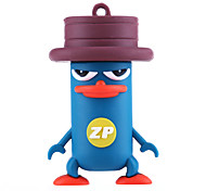 ZP Cartoon Platypus Character 8GB USB Flash Drive
