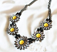 Women's  New Little Daisy Necklace