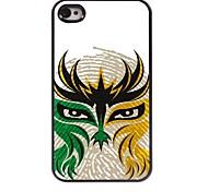 The Face Design Aluminum Hard Case for iPhone 4/4S