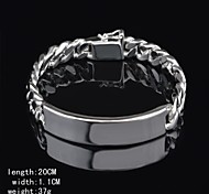 Fashion Sterling Silver Men's Bracelet
