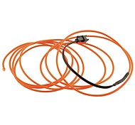 Auto Car 2M Long 2.3mm Dia Flexible EL Wire Neon Glow Strip Rope-(12V)