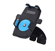 carro universal abertura do CD montar titular suporte para telefone celular iphone gps 360 graus rotativo