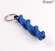 Eruner® Outdoor Survival Parachute Cord Rope Knot Key Chain