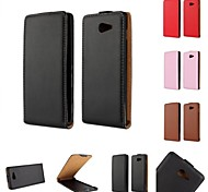 Kemile Top Quality Genuine Leather Flip Magnetic Pouch Cover Cae For ony Xperia M2 50h (Aorted Color)