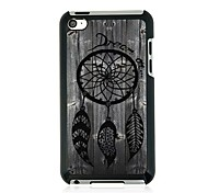 Fishing Net Leather Vein Pattern Hard Case for iPod touch 4
