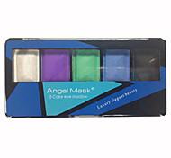 5 Paleta de Sombras de Ojos Seco Paleta de sombra de ojos Polvo Normal