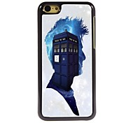 Police Box Pattern Aluminum Hard Case for iPhone 5C