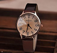 Women's Watch Vintage Big Numbers Quartz PU Band(Assorted Colors) Cool Watches Unique Watches