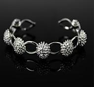 925 Silver Seven Bead Chain Bracelet