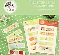 Cat Pattern Band-Aid Set(Random Color)