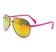 anti-brouillard rétro aviateur en métal des lunettes de soleil