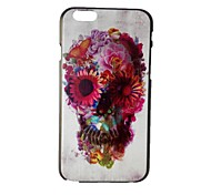Color Skull PC Hard Case for iPhone 6