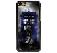 Police Box Design Aluminum Hard Case for iPhone 5C