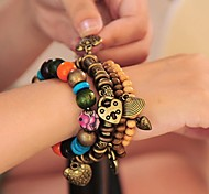 Fashion Bohemian Plastic Charm Bracelet(1pc)