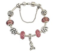 European Style Fashion Institute Wind Bear Bracelet