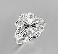 2016 Fashion Noble Women Party Casual Sterling Silver Statement Ring