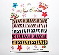Stampa modello nastro zebra africano prateria personalizzato costola 3/8 ribbon- 1 yarde per rullo (cinque colori una carta)