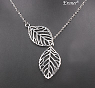 Eruner®Restoring Ancient Ways Leaves Alloy Necklace