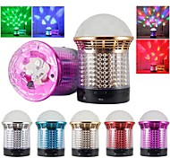 SG-11 Portable Crystal Colorful Lights Wireless Bluetooth Speaker Supports FM Functions