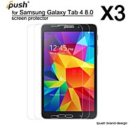 High Transparency HD LCD Screen Protector for Samsung Galaxy Tab 4 8.0 (3 Pieces)