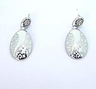 SPHERE Stainless Steel Chinese style Earrings