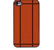 Ball Design Aluminum Hard Case for iPhone 4/4S