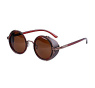 Sunglasses Women's Classic / Retro/Vintage / Sports Round Sunglasses Full-Rim