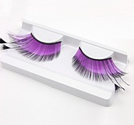 Purple Glow Carnival Eyelashes