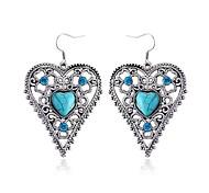 Love Sapphire Diamond Earrings
